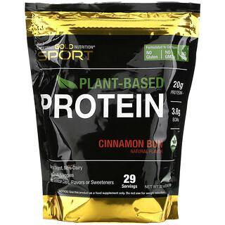 California Gold Nutrition, 肉桂面包植物性蛋白,素食,易消化,2 磅(908 克)
