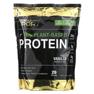 California Gold Nutrition, Vanilla Flavor Plant-Based Protein, Vegan, Easy to Digest, 2 lb (907 g) отзывы покупателей