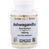 Ashwagandha Root Extract, 450 mg, 180 Veggie Capsules