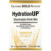 California Gold Nutrition, HydrationUP, Mezcla para preparar bebidas con electrolitos, Frutas tropicales, 20sobres, 4,8g (0,17oz) cada uno