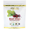 California Gold Nutrition, Beet Chips, Ready to Eat Plain Dried Slices, 1.4 oz (40g)