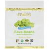 California Gold Nutrition, Alimentos, Feijão Fava, Fatias Assadas Prontas para Comer, Sal Marinho, 4,5 oz (127 g)