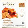 California Gold Nutrition, 食品,焦糖杏仁營養棒,12 支,1.4 盎司(40 克)/支