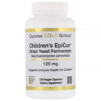 Children's Epicor, 125 mg, 120 Veggie Capsules - фото