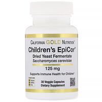 Children's Epicor, 125 mg, 30 Veggie Capsules - фото