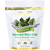 California Gold Nutrition, Chips de Arroz com Alga Marinha, Wasabi, 60 g (2 oz)