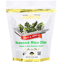 Seaweed Rice Chips, Hot & Spicy, 2 oz (60 g) - фото