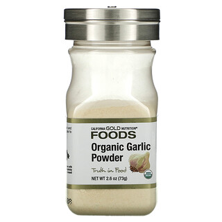 California Gold Nutrition, Organic Garlic Powder, 2.6 oz (73 g)