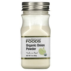 California Gold Nutrition, Organic Onion Powder, 3 oz (85 g)