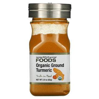 California Gold Nutrition, Organic Turmeric, 2.9 oz (82 g)