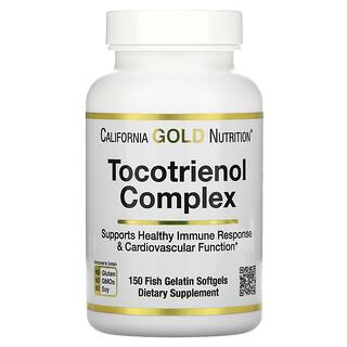 California Gold Nutrition, Tocotrienol Complex, Tocotrienol-Komplex, Vitamin E und gemischte Tocotrienole, 150Weichkapseln aus Fischgelatine