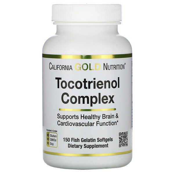 Tocotrienol Complex, 150 Fish Gelatin Softgels