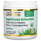 Amazing Grass, Антиоксидант Green Superfood, сладкая ягода, 210 г (7,4 унции) - iHerb