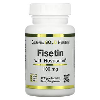 California Gold Nutrition, Fisetin with Novusetin, 100 mg, 30 Veggie Capsules