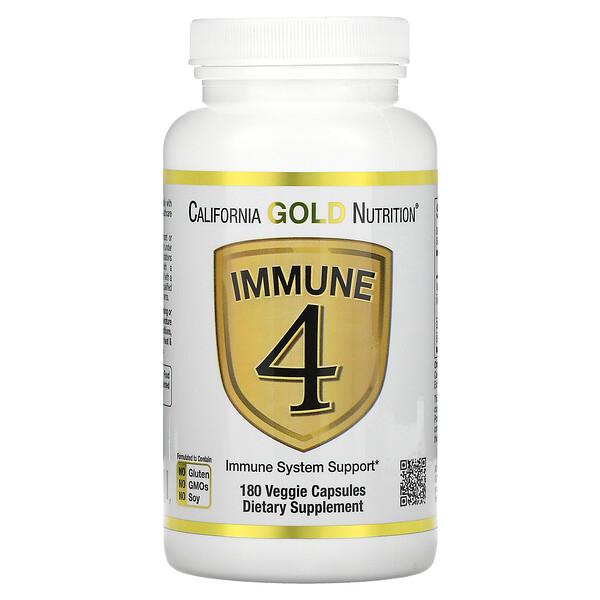 Immune 4 免疫系統支援素食膠囊,180 粒裝