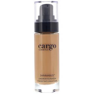Cargo, Swimmables, Base de maquillaje de larga duración, 60, 30ml (1oz.líq.)