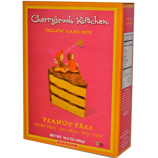 Cherrybrook Kitchen, Yellow Cake Mix, 16.3 oz (462 g) (Discontinued Item)