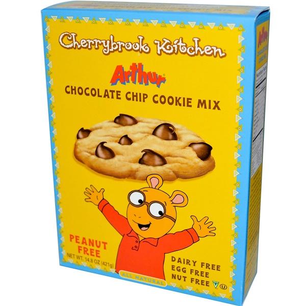 Cherrybrook Kitchen, Arthur Chocolate Chip Cookie Mix, 14.8 oz (421 g) (Discontinued Item)