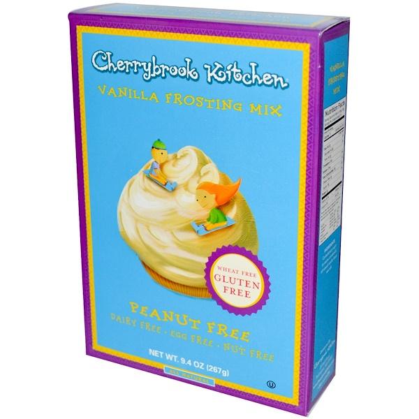 Cherrybrook Kitchen, Смесь для приготовления глазури с ванилью 9.4 унции (267 г) (Discontinued Item)