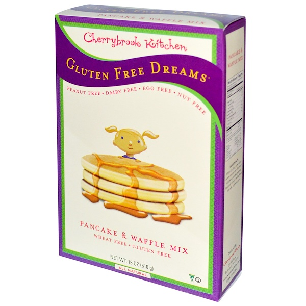 Cherrybrook Kitchen, Gluten Free Dreams, Pancake & Waffle Mix, 18 oz (510 g)