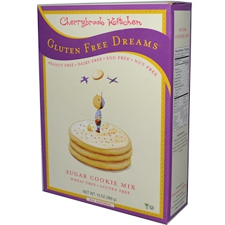 Cherrybrook Kitchen, Gluten Free Dreams, Sugar Cookie Mix, 13 oz (369 g)