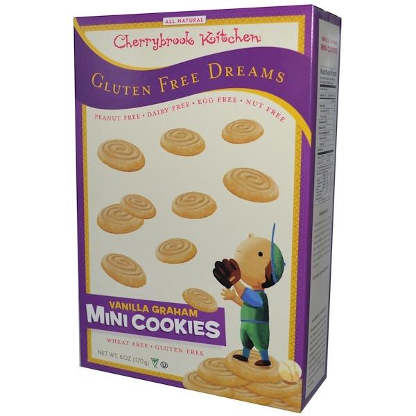 Cherrybrook Kitchen, Gluten Free Dreams, Mini Cookies, Vanilla Graham, 6 oz (170 g) (Discontinued Item)