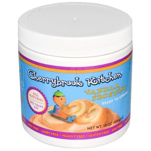 Cherrybrook Kitchen, Vanilla Frosting, 16 oz (454 g) (Discontinued Item)