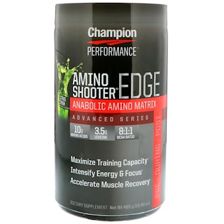 Champion Nutrition, Amino Shooter Edge, Citrus Crush, 16.40 oz (465 g)