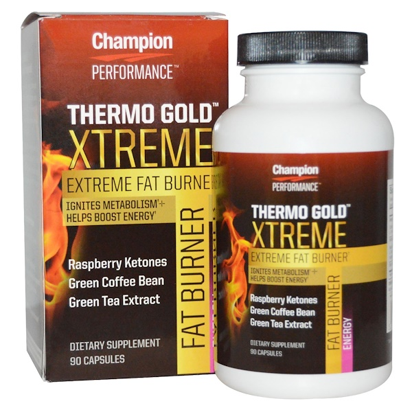 Champion Nutrition, Performance, Thermo Gold Xtreme, 90 Capsules (Discontinued Item)