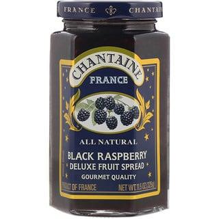 Chantaine, Deluxe Fruit Spread, чёрная малина, 325 г