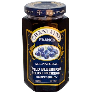 Chantaine, Deluxe Preserves, Wild Blueberry, 11.5 oz (325 g)