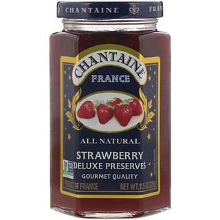 Chantaine, Deluxe Preserves, Strawberry, 11.5 oz (325 g)