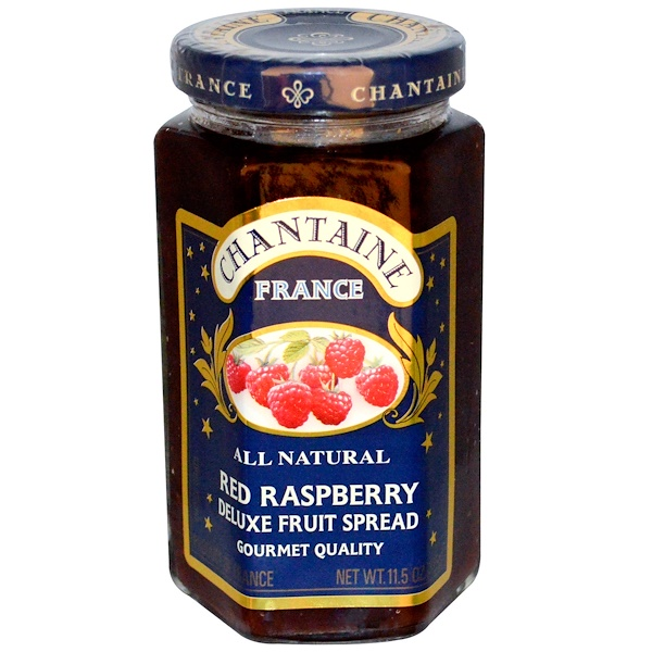 Chantaine, Deluxe Fruit Spread, Red Raspberry, 11.5 oz (325 g)