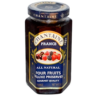 Chantaine, Deluxe Preserves, Four Fruits, 11.5 oz (325 g)