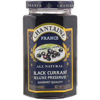 Chantaine, Deluxe Preserves, Black Currant, 11.5 oz (325 g)