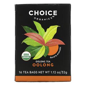 Чойс Органик Тис, Oolong Tea, Oolong, 16 Tea Bags, 1.12 oz (32 g) отзывы покупателей