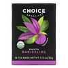 Choice Organic Teas, Black Tea, Darjeeling, 16 Tea Bags, 1.12 oz (32 g)