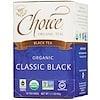 Choice Organic Teas, 유기농 클래식 홍차, 16개입, 1.1 온스 (32g)