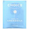 Choice Organic Teas, 草本茶,有机甘菊茶,无咖啡萃取,16 茶包,0.50 盎司(14 克)
