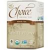 Choice Organic Teas, White Tea, Organic, White Peony, 16 Tea Bags, .8 oz (24 g)