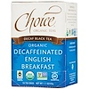 Choice Organic Teas, Decaf Black Tea, Organic, Decaffeinated English Breakfast, 16 Tea Bags, 1.1 oz (32 g)