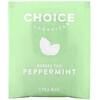 Choice Organic Teas, Herbal Tea, Peppermint, 16 Tea Bags, .60 oz (17 g)