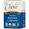 Choice Organic Teas, Black Tea, Organic, Russian Caravan, 16 Tea Bags, 1.1 oz (32 g)