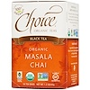 Choice Organic Teas, Black Tea, Organic, Masala Chai, 16 Tea Bags, 1.2 oz (35 g)