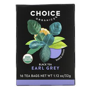 Чойс Органик Тис, Black Tea, Earl Grey, 16 Tea Bags, 1.12 oz (32 g) отзывы покупателей