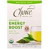 Choice Organic Teas, 웰네스 티, 유기농 에너지 부스트, 16 티 백 - .07 온스 (2 g) 개 당