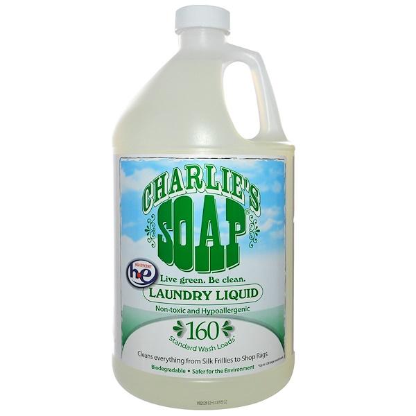 Charlie's Soap, Inc., Laundry Liquid, 1 Gal (3.8 L) (Discontinued Item)