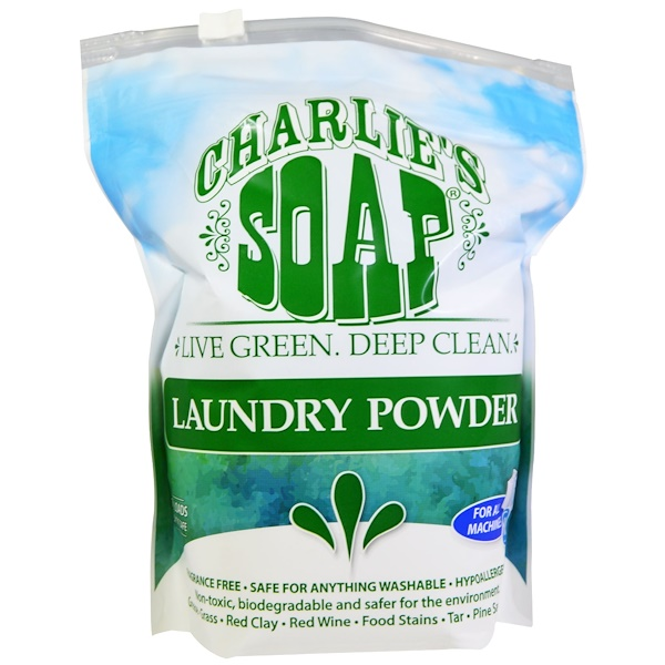 Charlie's Soap, Laundry Powder, 2.64 lbs (1.2 kg) (Discontinued Item)