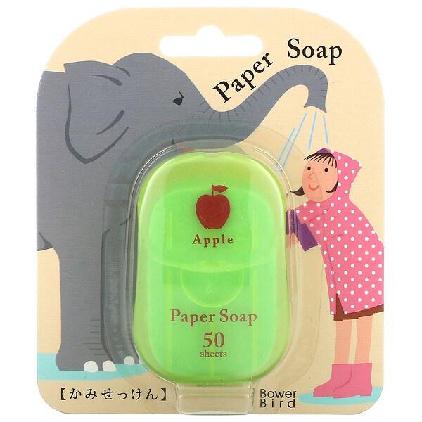 Paper Soap, Apple, 50 Sheets