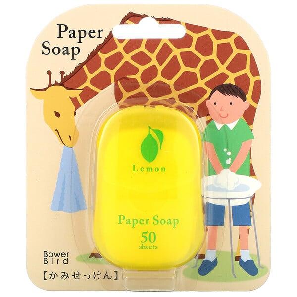 Paper Soap, Lemon,  50 Sheets